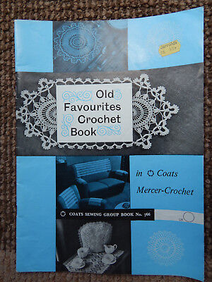 1977 COATS OLD FAVOURITE CROCHET BOOK No 766
