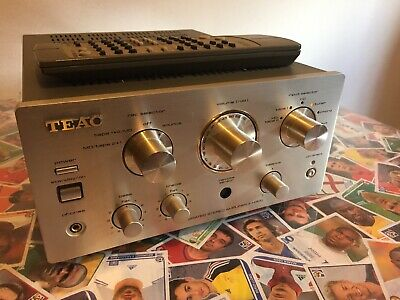 TEAC A-H300 Reference 300 Series Integrated Stereo Amplifier Amp With Remote