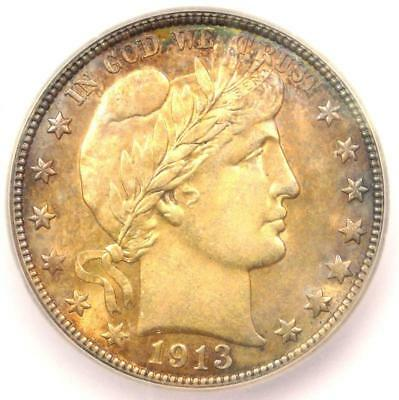 1913-D Barber Half Dollar 50C - ICG MS64 - Rare Certified Coin - $1,250 Value!