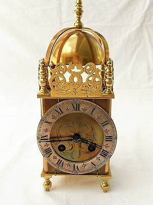 Brass Lantern Clock with French Movement
