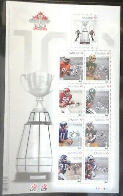 "Canada Stamp Sc #2567 ""100Th Grey Cup Game"" Mnh Ss"