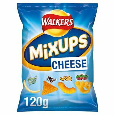 Walkers Mix Ups Cheese Snacks Full Case 9 x 120g