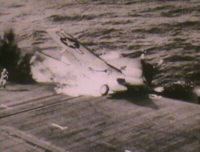 16mm film Navy USS Enterprise CV-6 Brief History WW2 Kamikazi attacks
