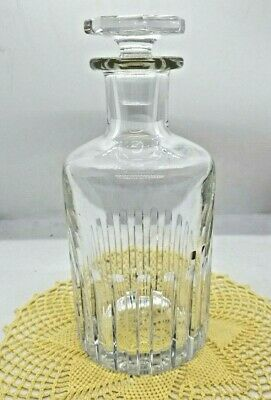 Exquisite BACCARAT ROTARY Cut Crystal DECANTER & STOPPER