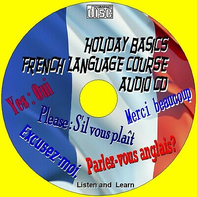 Holiday French Language Course Listen & Learn Essential Words & Phrases Audio Cd