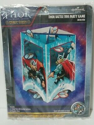 Marvel The Mighty Avengers Thor Battle Toss Birthday Party Game