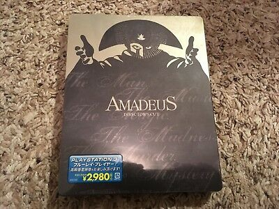 Amadeus Director's Cut Blu-ray Steelbook Region All Japan New & Sealed!