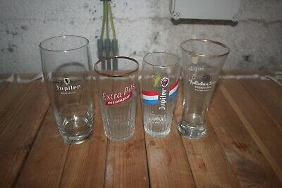 4 verre JUPILER PIEDBOEUF JUPILLE HOLLIDAY IN EXTRA PILS