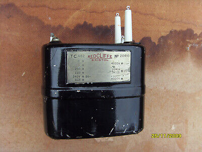 Very High Voltage Transformer - Oil-filled C-Core by Redcliffe