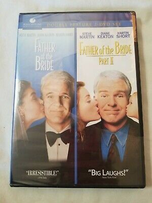 FATHER OF THE BRIDE I + II New 2 DVD Double Feature 1 2 Steve Martin SEALED