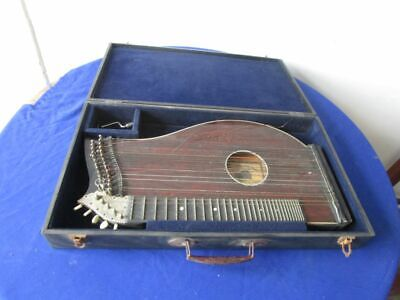 H9975)  alt Original  ZITHER + Kasten