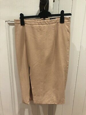 bardot leather skirt Size 14