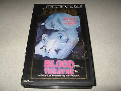 Blood Theatre *Very Rare and Hard to find Palace Horror*