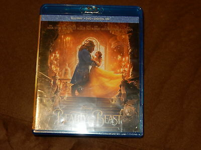 Brand New Beauty And The Beast Blu-Ray/dvd/digital Hd Disney Emma Watson