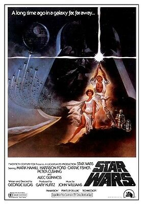 Affiches Star Wars Star Wars A New Hope 2 3 4 5 32