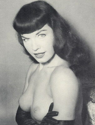 photo 10*15cm 4*6 inch BETTIE PAGE