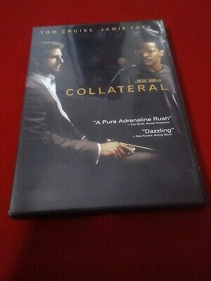 DVD Movie Collateral, with Tom Cruise and Jamie Foxx