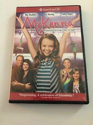 An American Girl: McKenna Shoots for the Stars (DVD, 2013) Like New Never Watch
