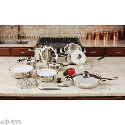 Surgical Stainless Steel Cookware Set Lifetime Warranty