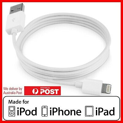 Apple Lightning Data Cable Charger for Genuine iPhone 5 6 7 8 Plus X XS Max iPad