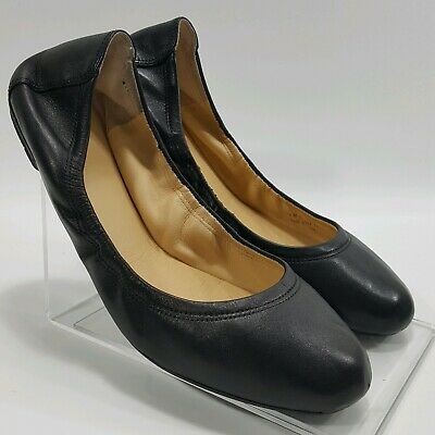 e5df4575bbf5 Cole Haan Womens Manhattan Ballet Flats Dark Black Patent Leather Shoes Sz  7.5 B