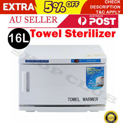 NEW 16L UV Towel Sterilizer Warmer Cabinet Disinfection Heater Hot Hotel Salon