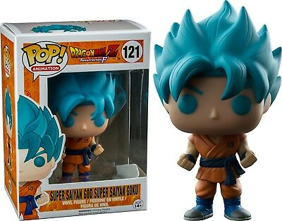 Action Figure Funko Pop Dragon Ball Z Animation Super BLUE GOKU PVC figures toy