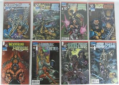 Marvel & Topcow: Devil's Reign 8 BOOK LOT! NEVER READ #1 SIGNED MARC SILVESTRI