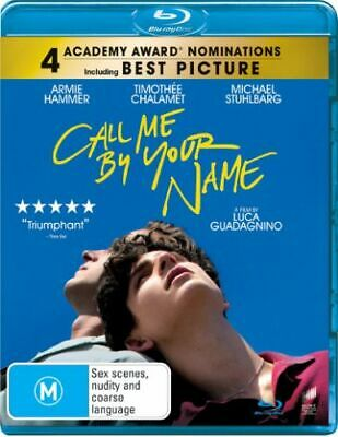 Call Me By Your Name (2017) [New Bluray]