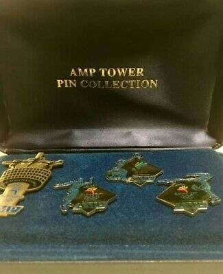 Rare Sydney 2000 Olympic AMP Tower pin collection Set