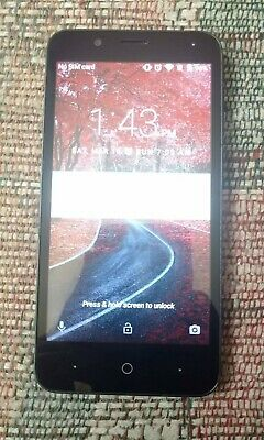 ZTE ZFIVE C (Z558VL) - Tracfone- For Parts/AS IS- Cracked