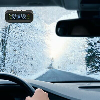 Concealed Wireless Tire Pressure Monitor High-precision Display Tire Pressure UK