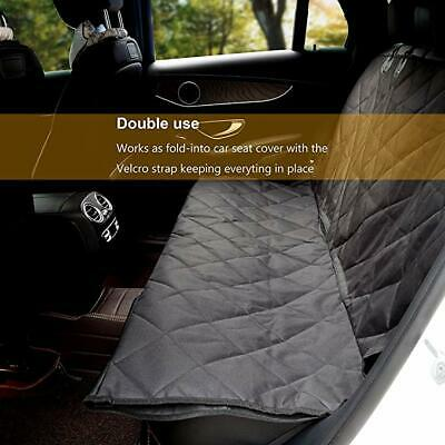 Pet Seat Cover Car for Pets - Scratch Proof & Nonslip Backing & Hammock