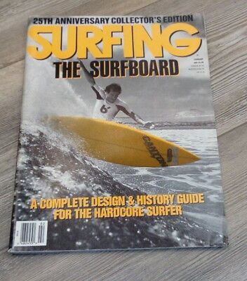 Surfing Magazine / Vintage / February 89 / Rare / 25Th Anniversary Collector