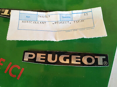 N.O.S decalque carter PEUGEOT 103 HP TSER  mobylette