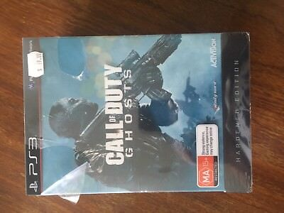 Call of Duty Ghosts Hardened Edition NEW/SEALED PS3 - PlayStation 3 Game