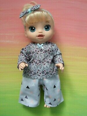 "Dolls clothes for 13"" BABY ALIVE / MY MOMMY DOLL~Top~Pants~Headband // Triangles"