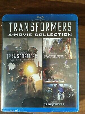 Transformers Quadrologie Blu Ray 4 Teile 4 Movie Collection 1 2 3 4