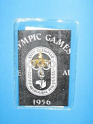 Melbourne 1956 Olympic Pin Genuine Nice