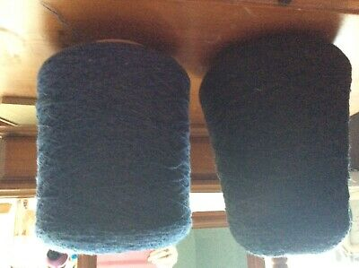 2 cones of industrial 100% wool for machine knitting