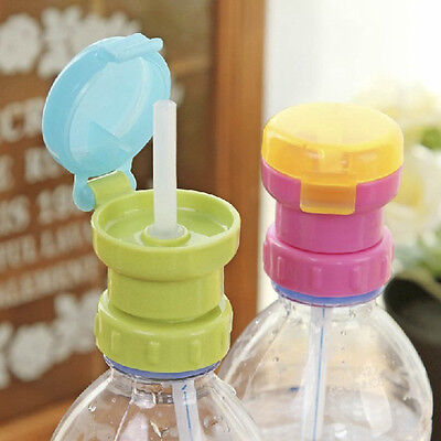 Bottle Covers Replacement Child Drinking Straw Lid Cover Anti Spill Lid Children