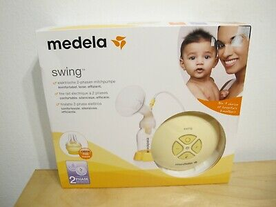 Medela Swing Electric Breast Pump w/ Calma NEW Sealed Free Shipping EU VOLTAGE!