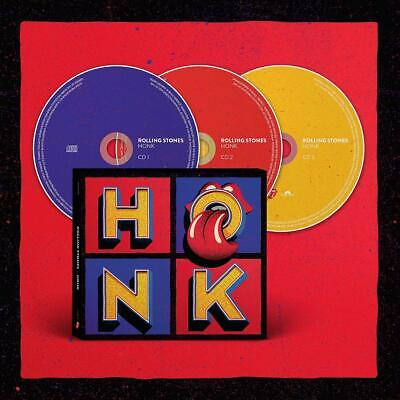 ROLLING STONES 'HONK' (Best Of / Greatest Hits) 3 CD Deluxe Edition (2019)