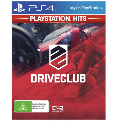 DriveClub PS4 PlayStation 4 Drive Club New Sealed AU
