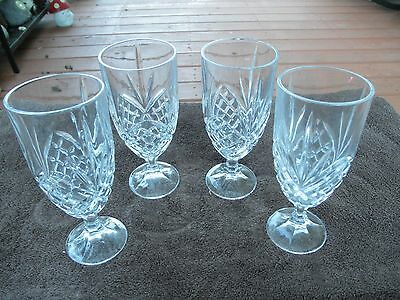 Marquis by Waterford Brookside Iced Beverage Goblet Set of 4