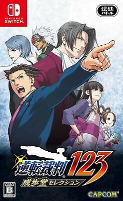 New Nintendo Switch Phoenix Wright Ace Attorney Trilogy JAPAN OFFICIAL IMPORT
