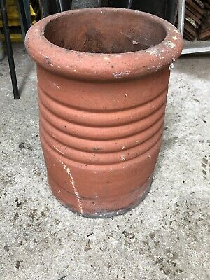 Red Terracotta clay chimney pots (very rare)