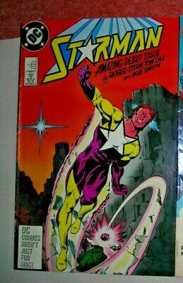 STARMAN 1 DC COMIC VF October 1988 Modern age STERN/TOM LYLE GLOSSY MORE LISTED
