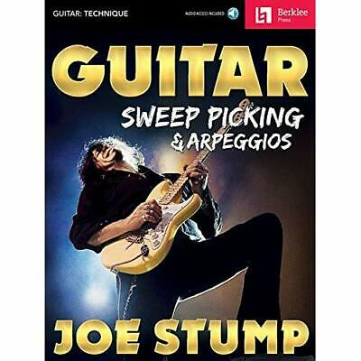Guitar Sweep Picking &­Arpeggios - Mixed media product NEW Stump, Joe 01/06/2017