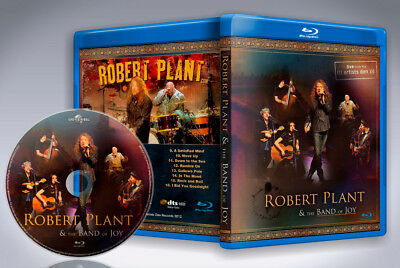 Robert Plant and the Band of Joy: Live from the Artist's Den Blu-Ray 2012 new